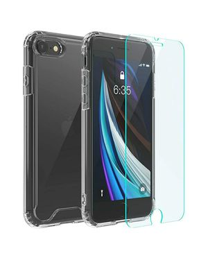 Photo Iphone se 2020 case with screen protector