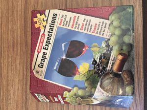 Wine game puzzle for Sale in Wheatfield, IN