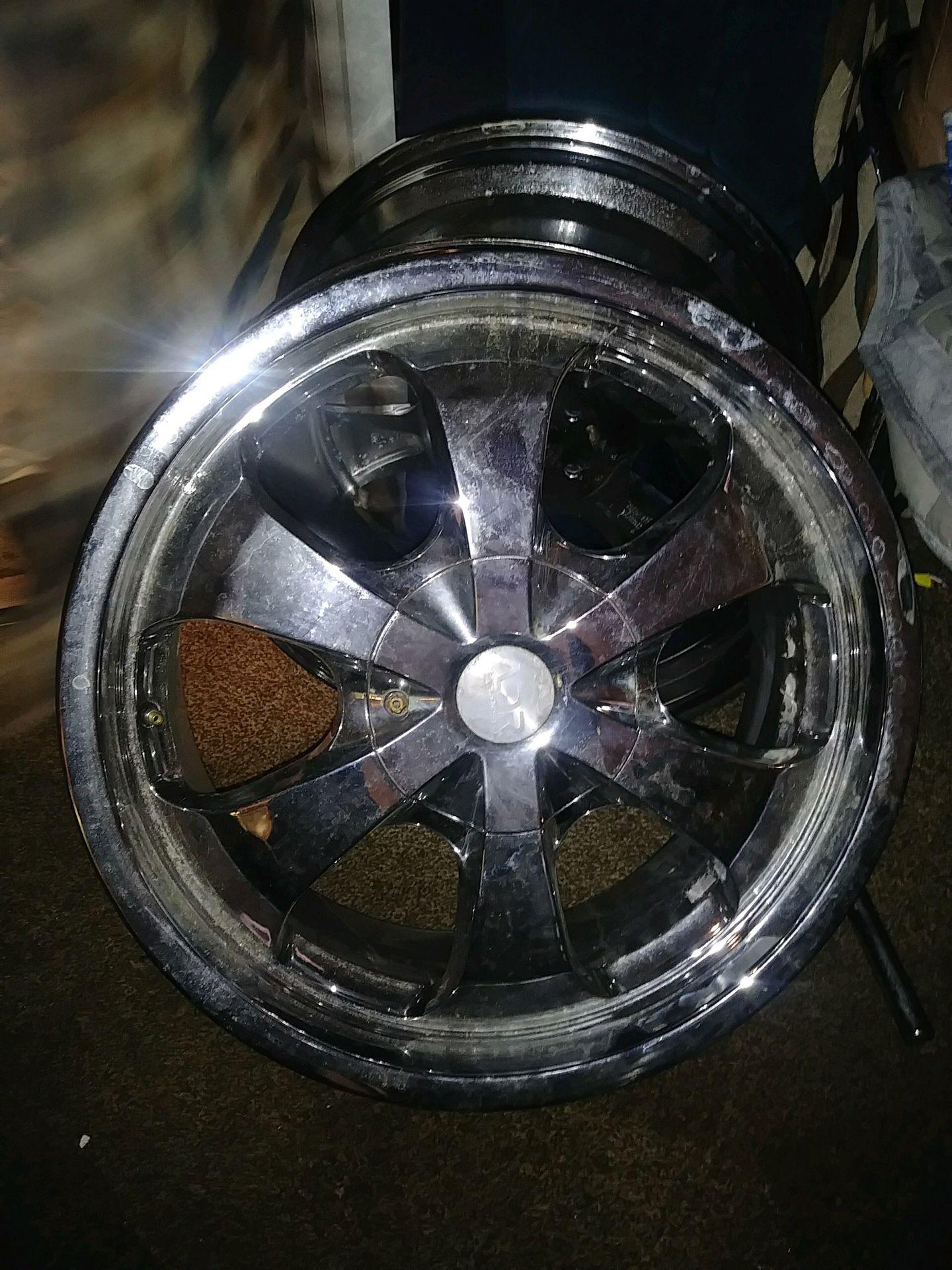 20 inch rims set of 4