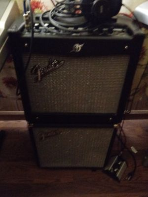 Bass n guitar amps both like new.great for jamming for Sale in Deltona, FL