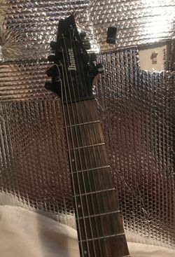Ibanez 8 string electric guitar Thumbnail
