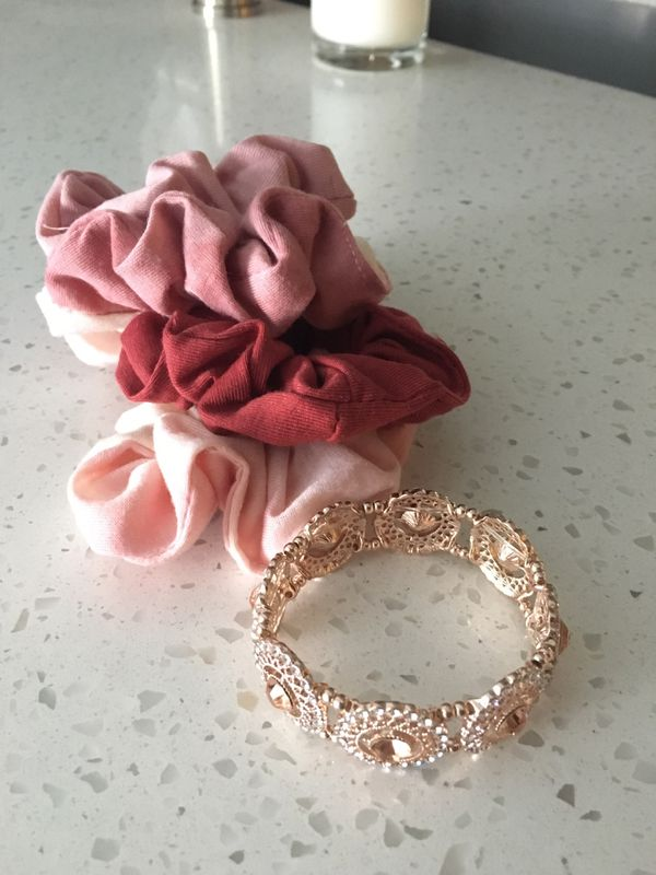 Francesca s Collections scrunchies and bracelet for Sale in Ashburn ... c3353e7a83f