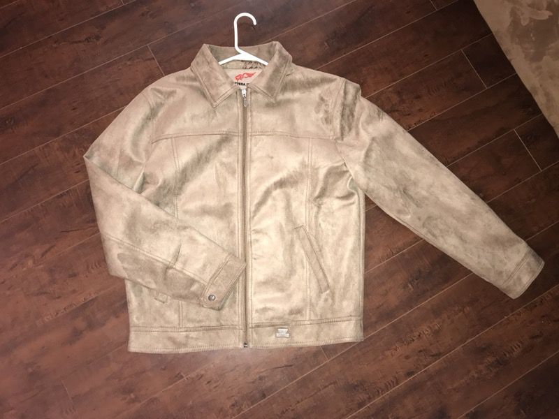 Men's Bottega Italia leather/suede jacket
