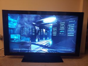 """Used, Samsung 46"""" tv for parts for sale  Tulsa, OK"""