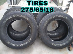 NEW TIRES 275//65//18 for Sale in Las Vegas, NV