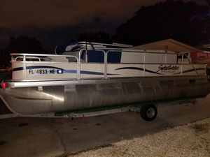 New and Used Pontoon boat for Sale in Brandon, FL - OfferUp
