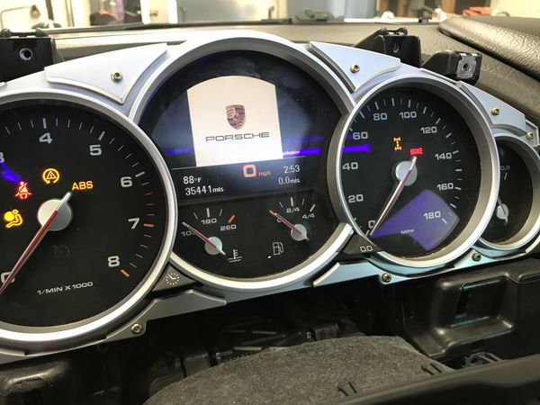 Porsche Cayenne S/GTS/Turbo RB4 Cluster Speedometer Odometer for Sale in  Santee, CA - OfferUp