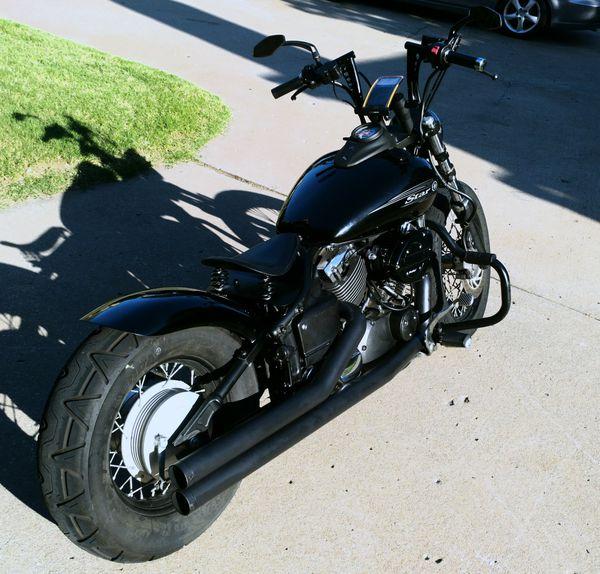 Yamaha V-Star 650 Custom Bobber for Sale in Tulsa, OK - OfferUp