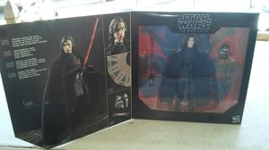 "Star Wars ""The Black Series"" Posable Kylo Ren Figure. (NEW) L@@K!!! for Sale in Mesa, AZ"
