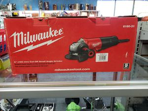 Milwaukee Angle Grinder for Sale in Raleigh, NC