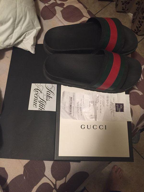 16ff2681ae6b Gucci slides for Sale in San Antonio