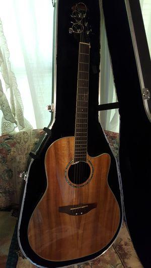 Used celebrity ovation guitar