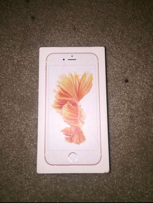 iPhone 6s Rose gold 32GB unlocked for Sale in Takoma Park, MD