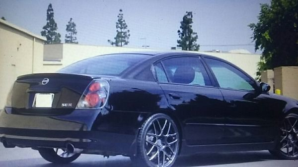 2005 Nissan Altima Se R 1000 Leave Me Youreil And I Will