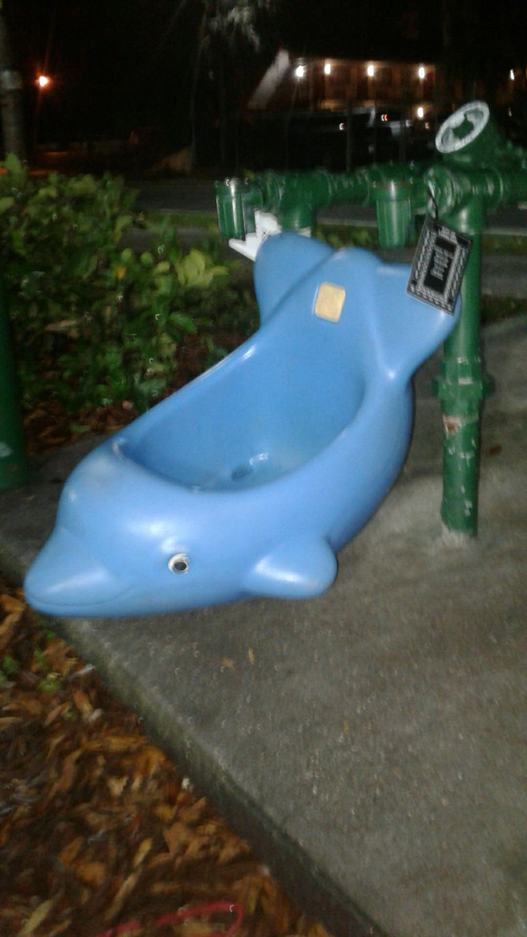 Step 2 dolphin swing just the swing