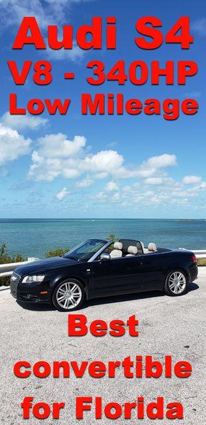 Photo Audi S4 Convertible 2007 (B7) - Premium Package - Low Mileage !!!