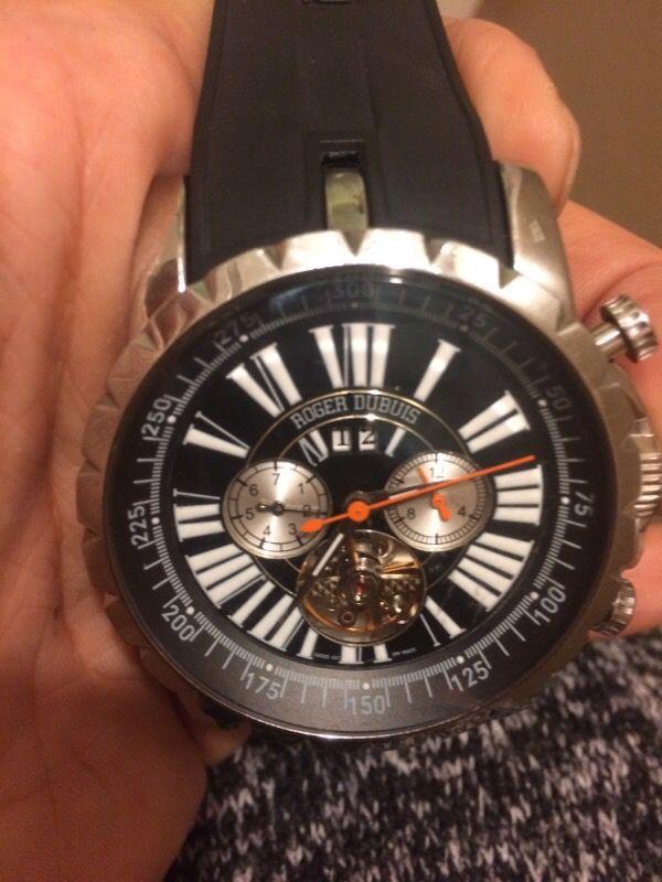 """Offerup Las Vegas >> Men's Roger Dubuis (50M) chronoexcel """"easy diver"""" limited ..."""