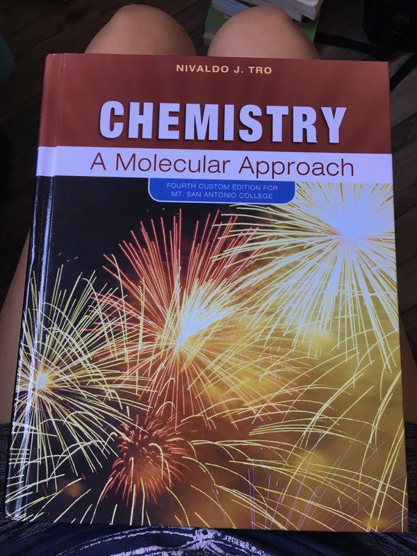 Chemistry A Molecular Approach 4th Custom Ed By Nivaldo J Tro For