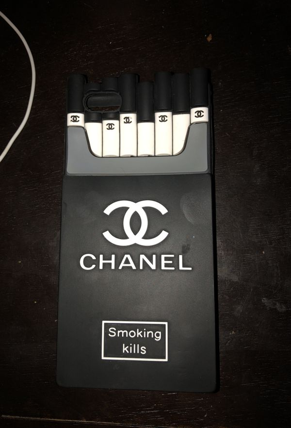 hot sale online 314c3 5257b Chanel smoking kills phone case iPhone 6/7 plus for Sale in Glendale, AZ -  OfferUp