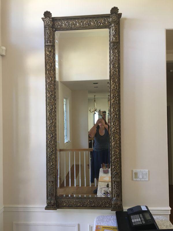 Antique Floor Mirror (Antiques) in Mukilteo, WA - OfferUp