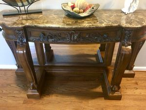 Michael amini console table for Sale in Boyds, MD