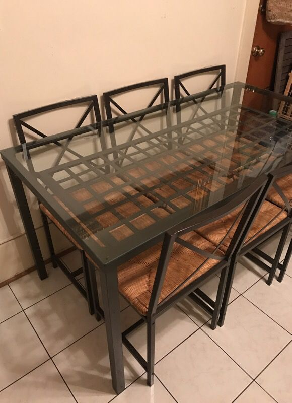 Ikea Granas Dining Table With 6 Chairs