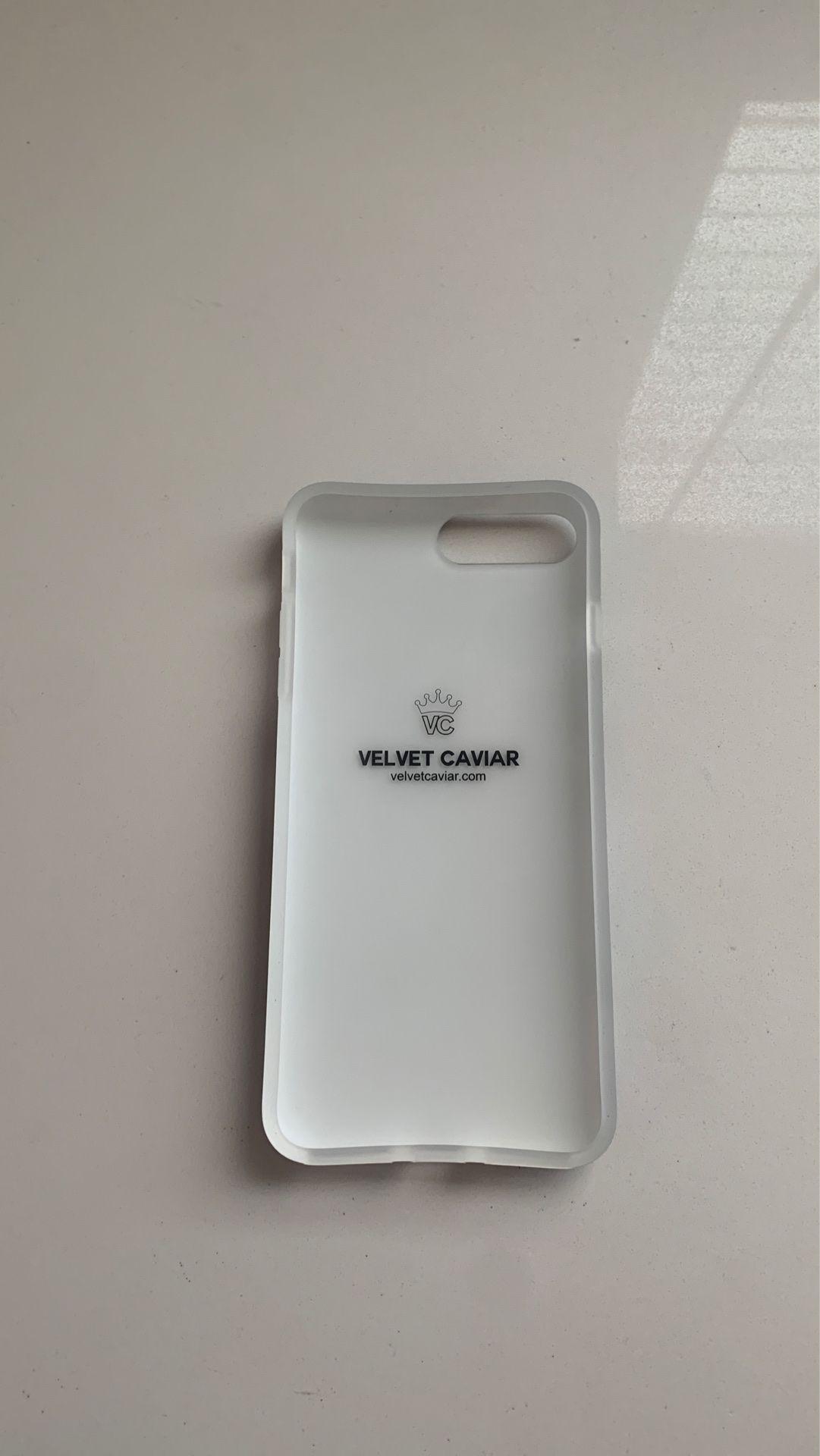 Velvet Caviar iPhone 8 / 7 plus Blue marble