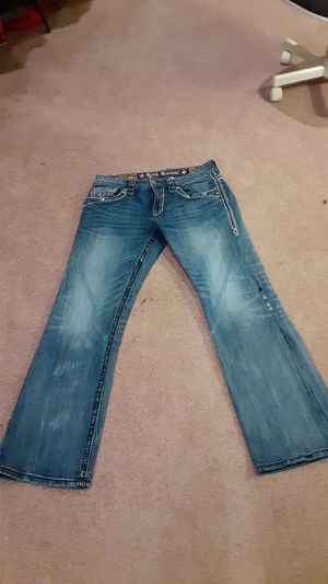 Photo Men's 34 by 31 Rock Revival jean
