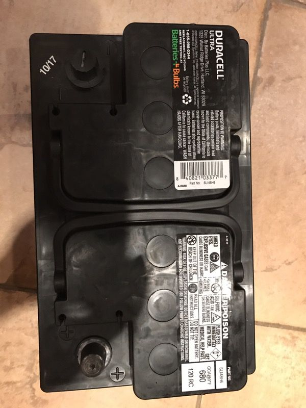 Duracell Car Battery Review >> Duracell Car Battery Brand New For Sale In Fort Myers Fl Offerup