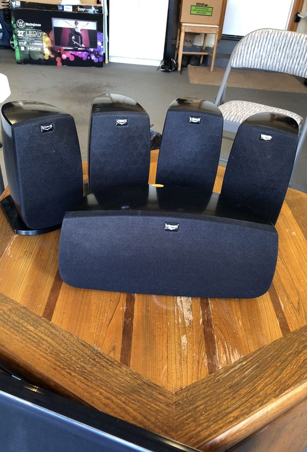 Klipsch Quintet 5 0 Home Theater Speaker System Audio Equipment In Vancouver Wa Offerup