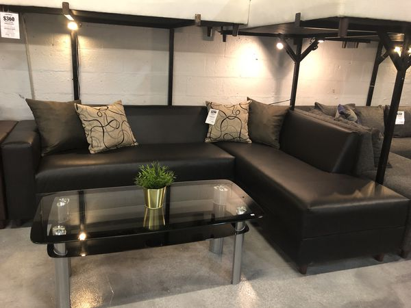 Black Sectional Sofa for Sale in Miami, FL - OfferUp