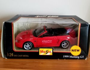 1:24 Display Maisto Special Edition Red 1999 Ford Mustang GT Convertible for Sale in Gaithersburg, MD