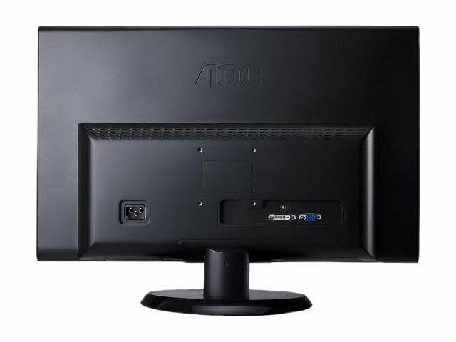 """AOC E2050SWD 19.5"""" HD 1600x900 monitor"""