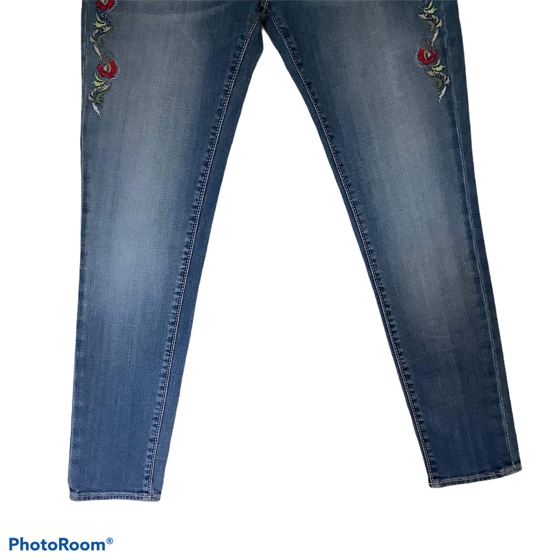 Driftwood Embroidered Jeans