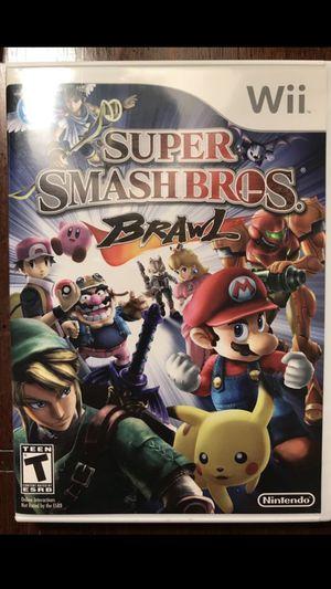Super Smash Bros Brawl for Sale in Springfield, VA