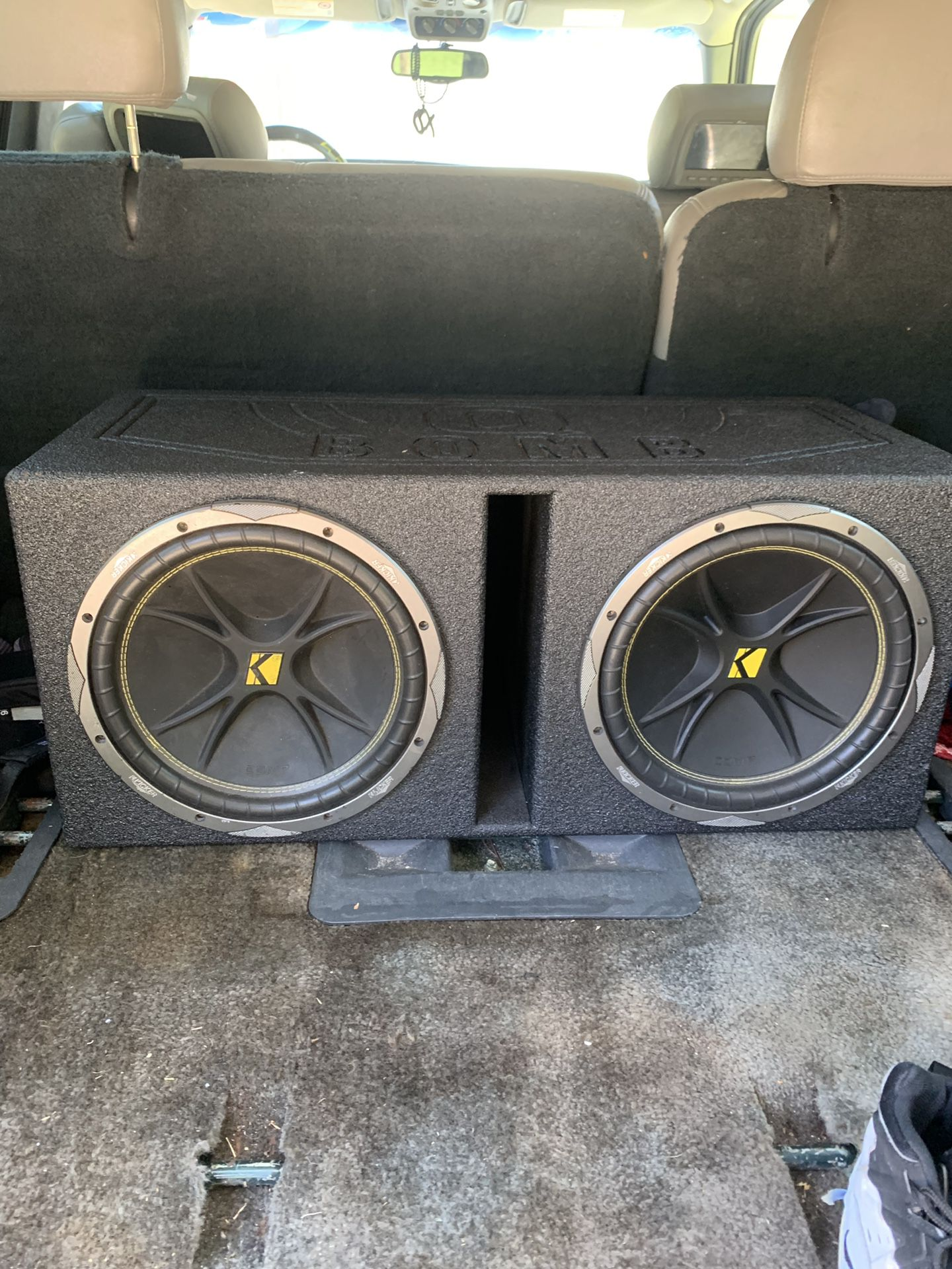 Speakers and box