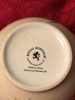 Soup/Cereal Bowl by Royal Norfolk Thumbnail