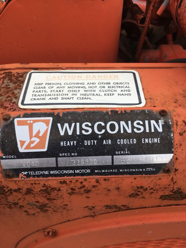 Wisconsin VG4D motor for Sale in Massillon, OH - OfferUp