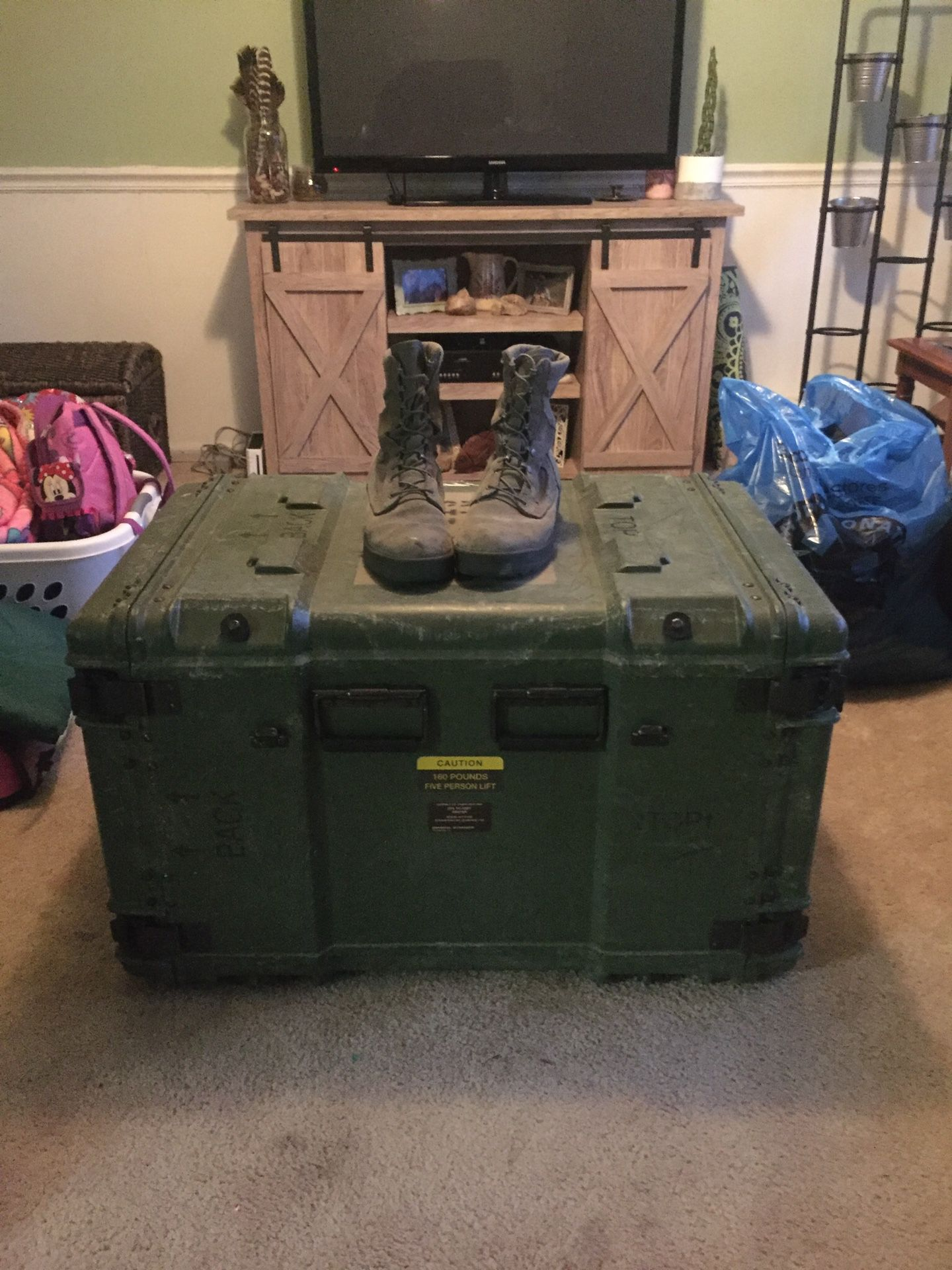Military surplus containers