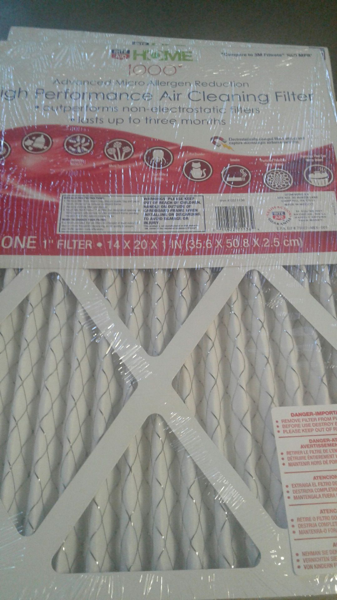Air cleaning filter/Heather filters