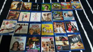 Blu ray lot of movies like new for Sale in Atlanta, GA