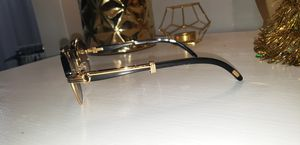 Photo Black cartier malmaison glasses
