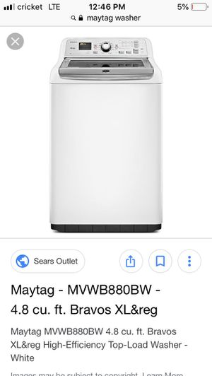Washer and dryer for Sale in Alexandria, VA