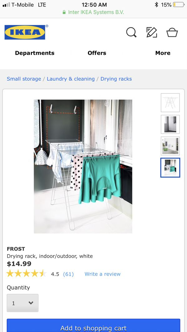 Ikea Frost Drying Rack For Sale In San Diego Ca Offerup