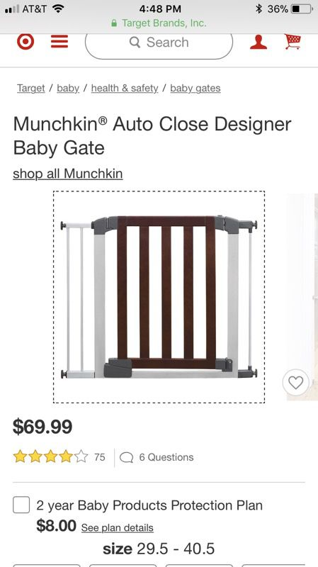 Munchkin Auto Close Baby Gate For Sale In Philadelphia Pa Offerup