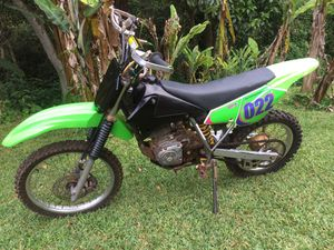 Photo Kawasaki 125 dirtbike