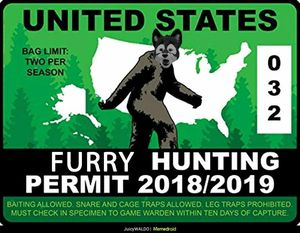Furry hunting permit for Sale in Encinitas, CA
