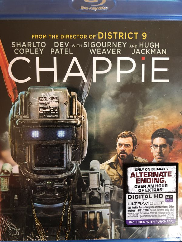 Chappie Dvd Blue Ray For Sale In San Diego Ca Offerup