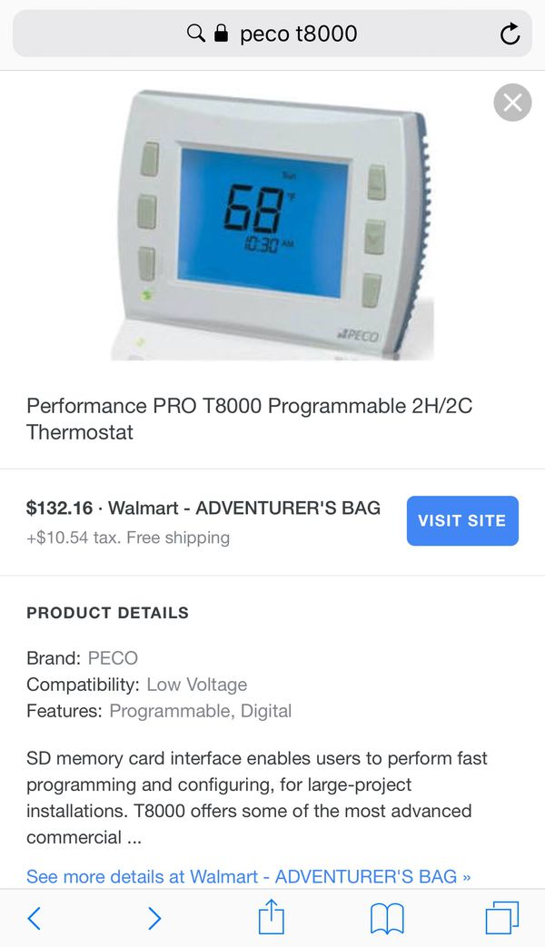 New and Used Thermostats for Sale in Clovis, CA - OfferUp