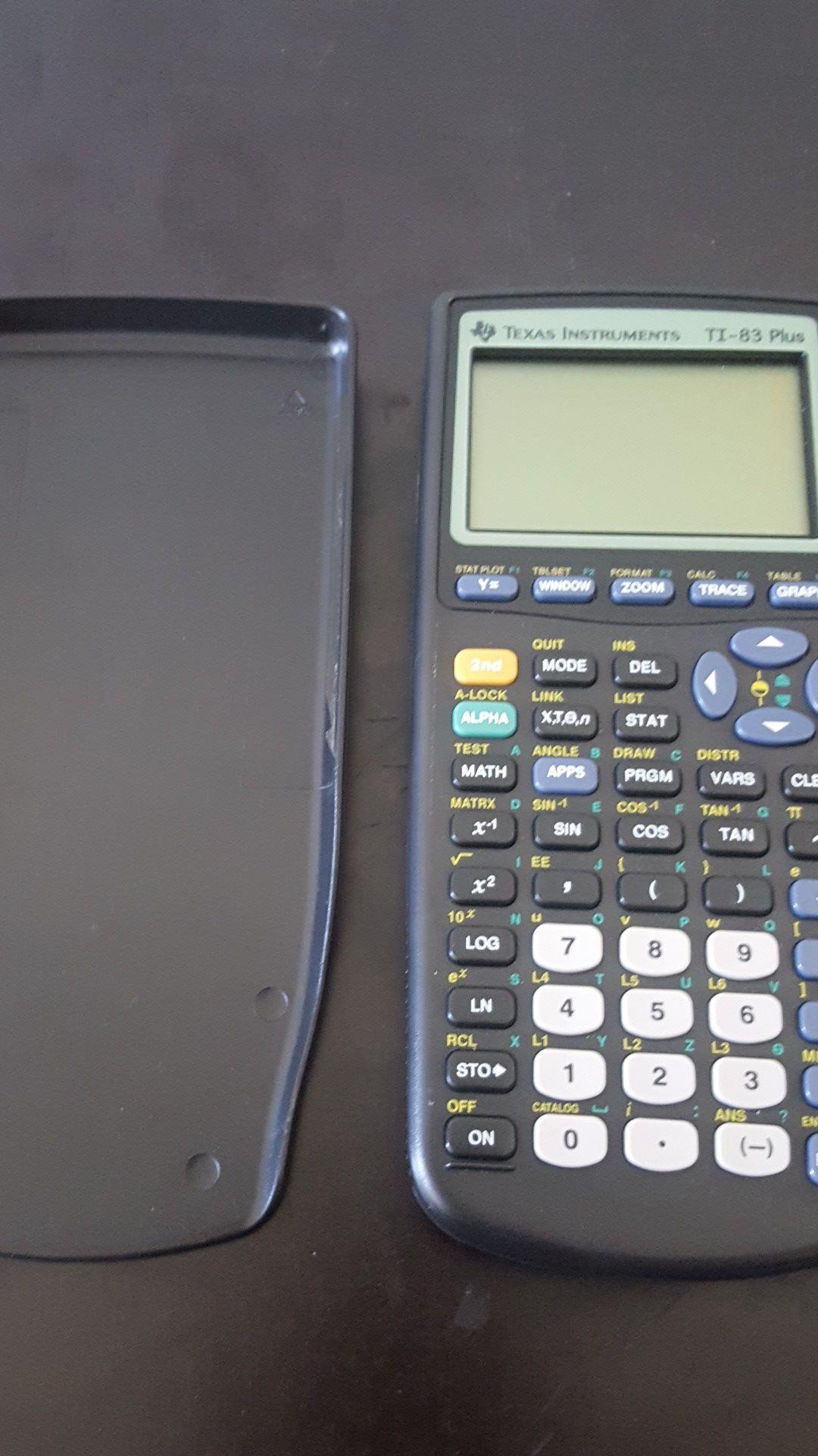 ti 83 scientific calculator